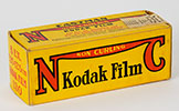 Box of Eastman Kodak No. 130 Film