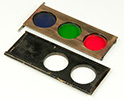 Sliding Tri-Color Filter Holder