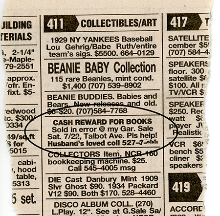 Newspaper classified ad